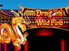 В казино Вулкан Вегас автомат Бушующее Пламя Дракона