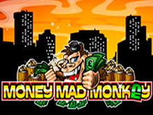 Игровой автомат Помешанная на Деньгах Обезьяна дарит различные бонусы